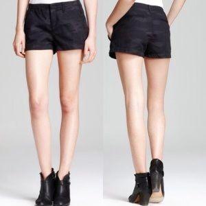 Rag & Bone Portobello black camo shorts 🖤 sz 24
